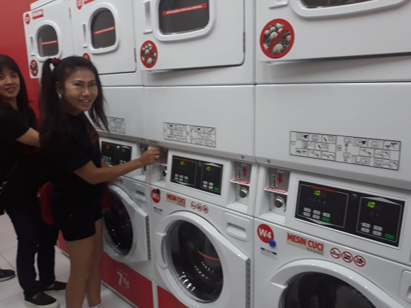 Cabang Ke-25 The Daily Wash Laundromat Hadir di Medan